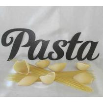 Figuras Letras Pasta Cocina Decoracion Metal