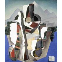 Cuadro En Tela Paisaje Estilo Zapata Diego Rivera 1915