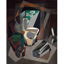 Cuadro En Tela Still Life With Utensils Diego Rivera 1917