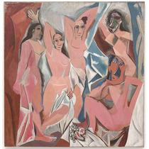 Cuadro En Tela Pablo Picasso Les Demoiselles D