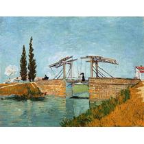 Cuadro En Tela Langlois Bridge Vincent Van Gogh 1888 50 X 65