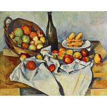 Cuadro En Tela Paul Cezanne Naturaleza Muerta Franci 50 X 64
