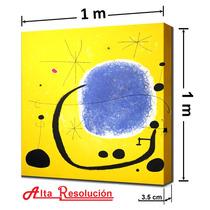 Cuadro Moderno. Joan Miró., 1 X 1 M.