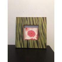 Cuadro Impresion En Canvas Flor Con Ramas