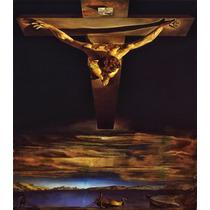 Lienzo Tela Cristo San Juan De La Cruz Salvador Dalí 55 X 80