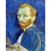 Lienzo Tela Autoretrato Vincent Van Gogh 50 X 65 Cm