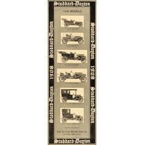 Lienzo Tela Publicidad Anuncio Dayton Motor Car 1907 88 X 30
