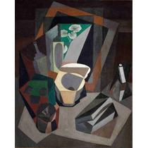 Lienzo Tela Bodegón Con Utensilios Diego Rivera 1917 63x50cm