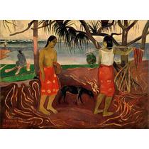 Lienzo Tela Paul Gauguin I Raro Te Oviri 1891 50 X 68 Cm