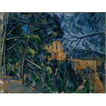 Lienzo Tela Pintor Paul Cezanne Castillo Negro 1900 50x65 Cm