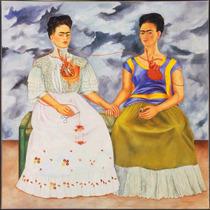Lienzo Tela Las Dos Fridas Por Frida Kahlo 1939 60 X 60 Cm