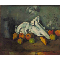 Lienzo Tela Paul Cezanne Frutas Francia 1892 50 X 61 Cm