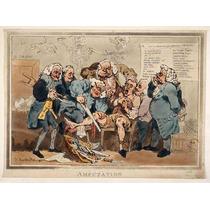 Lienzo Tela Cirugía En Arte 5 Cirujanos Amputació 1795 50x67