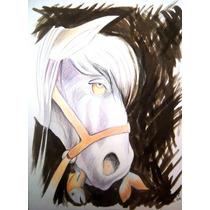 Pony, Tecnica Mixta De Poblette