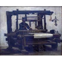 Lienzo Tela Tejedor Telar Vincent Van Gogh 1884 50 X 63 Cm