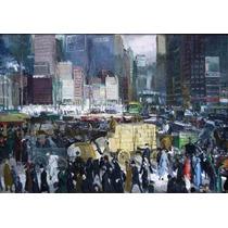 Lienzo Tela New York Artista George Bellows 1911 70 X 100 Cm