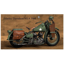 Lienzo Tela Poster Moto Harley Davidson Wla 1944 60 X 100 Cm