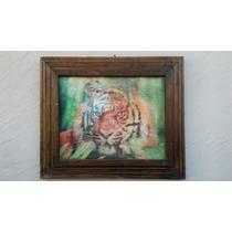 Cuadro Tigre Tridimencional