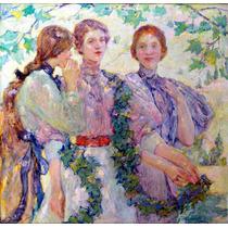 Lienzo Tela Trio Robert Reid 50 X 50 Cm Arte Poster
