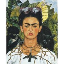 Frida Kahlo. Litografía Grande