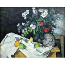 Lienzo Tela Paul Cezanne Naturaleza Muerta 1890 50 X 65 Cm