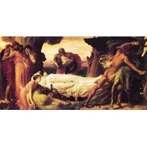 Lienzo-tela Captive Andromache Frederic Leighton 50 X 100 Cm