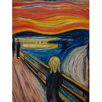 Lienzo En Tela. Van Gogh. El Grito. 50 X 60 Cm.