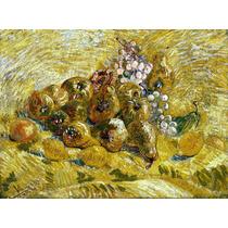 Lienzo Tela Membrillos Limones Peras Y Uvas Vincent Van Gogh