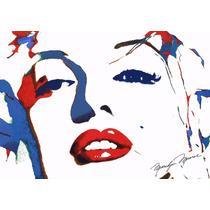 Lienzo, Tela, Marilyn Monroe, Poster Serigrafía: 80 X 100 Cm