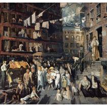 Lienzo Tela New York Artista George Bellows 100 X 100 Cm