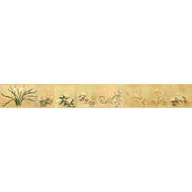 Lienzo Arte Chino 8 Flores 16 X 130 Cm