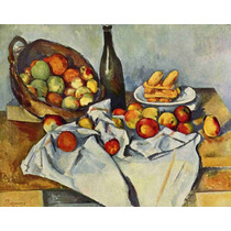 Lienzo Tela Paul Cezanne Naturaleza Muerta Francia 50 X 64cm