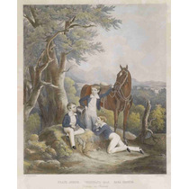 Lienzo Tela Pintura Maximiliano Con Hermano 1844 61 X 50 Cm
