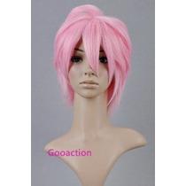 30cm Pelo Corto De Color Rosa Anti-alice Short Rosa Peluca R