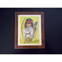 Cuadro Decorativo Infantil Litografia Pastel Ted De Grazia