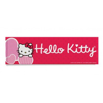 Cuadro Decorativo Hello Kitty Corazon Para Niñas