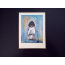 Cuadro Decorativo Infantil Litografia Blue Boy Ted De Grazia