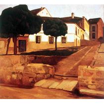 Lienzo Tela Calle En Ávila Diego Rivera 1908 50 X 54 Cm