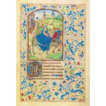 Lienzo Tela Manuscritos Iluminados Viaje A Egipto Arte Sacro