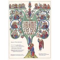 Lienzo Tela Portada La Genealogía De Cristo Arte Sacro 69x50
