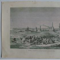Litografia (23x31 Cms): Egipto. Ciudad De Los Muertos. Mundo