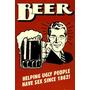 Carteles De Cerveza - Miniposters Retro Para Bares Sav7