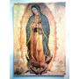 Virgen De Guadalupe. Hermosa Litografía De 40 X 50 Cm