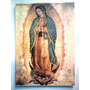 Virgen De Guadalupe Hermosa Litografía De 70 X 100 Cm