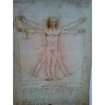 Carpeta De 5 Litografias De Leonardo Da Vincci
