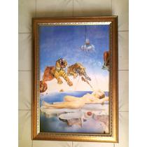 Cuadro Grande Marco Romano Dali Tigres O Virgen