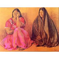 Francisco Zuñiga Litografia Mujeres Con Rebozo 1973 Misrachi