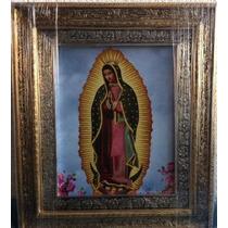 Virgen De Guadalupe-original,tamaño 45 X 38 Cms