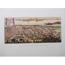 Litografía Cartografia Historia De La Ciudad De Mexico