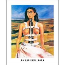 Litografía Original De Frida Kahlo